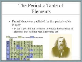 Ppt periodic table of elements powerpoint presentation id4285482 the periodic table of elements urtaz Image collections