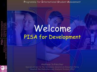 Welcome PISA for Development