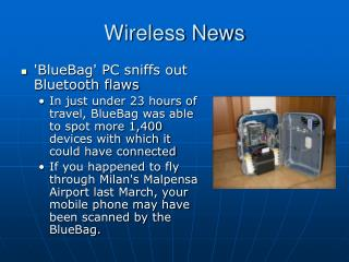 Wireless News