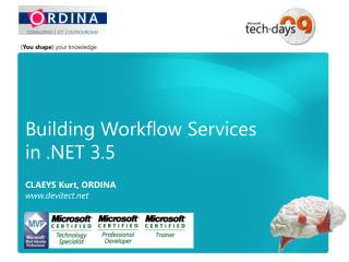 Building Workflow Services  in .NET 3.5