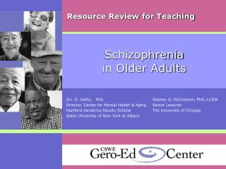Schizophrenia in Older Adults