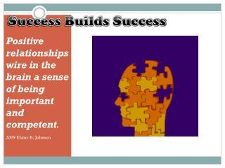 Success Builds Success