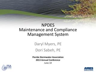 NPDES Maintenance and Compliance Management System
