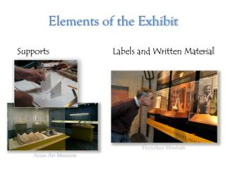 Elements of the Exhibit