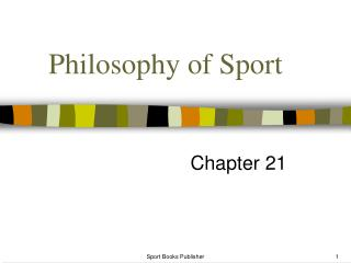 Philosophy of Sport