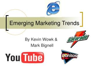 Emerging Marketing Trends