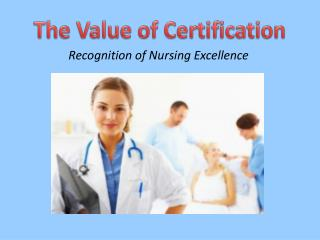 Recognition of Nursing Excellence