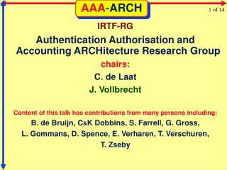 AAA - ARCH
