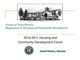 County of Santa Barbara  Department of Housing and Community Development