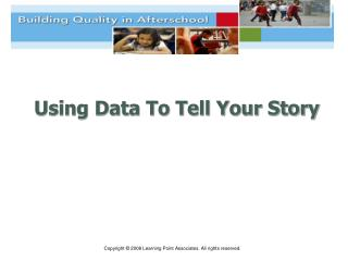 Using Data To Tell Your Story