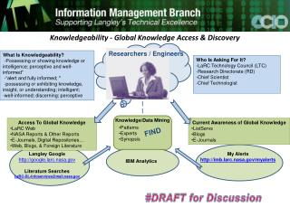 Knowledgeability - Global Knowledge Access & Discovery