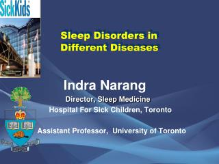 Sleep Disorders in          Different Diseases