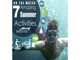 On the Water: 7 Amazing Summer Activities