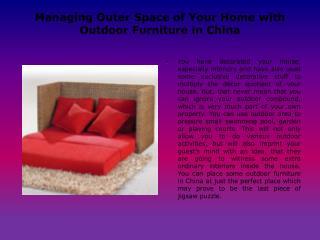 Shunde Furniture China