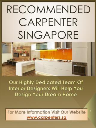 Hdb Renovation Package Singapore