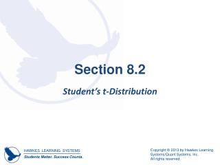Section 8.2