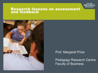 Research lessons on assessment and feedback