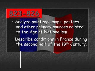 823-826  Analyze paintings, maps, posters    and other primary sources related