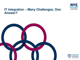 IT integration – Many Challenges, One Answer?