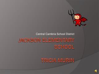 Jackson Elementary School Tricia Murin