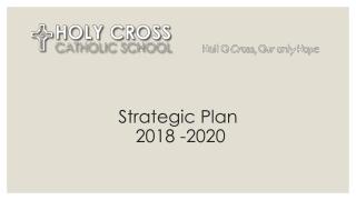 Strategic Plan 2018 -2020