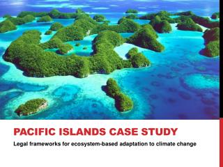 PACIFIC ISLANDS CASE STUDY