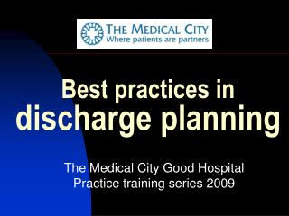 Best practices in  discharge planning