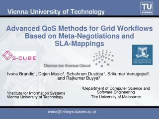 Advanced QoS Methods for Grid Workflows Based on Meta-Negotiations and SLA-Mappings