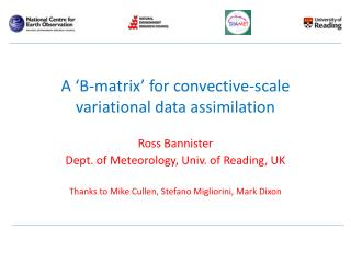 A 'B-matrix' for convective-scale variational data assimilation