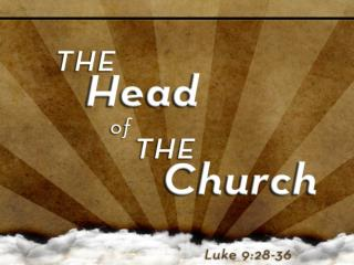 God Chose the Head