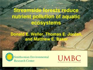 Streamside forests reduce nutrient pollution of aquatic ecosystems