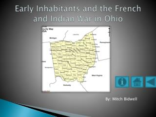 Early Inhabitants and the French and Indian War in Ohio