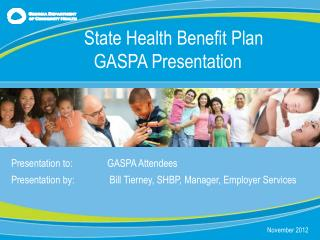Presentation to:		GASPA Attendees