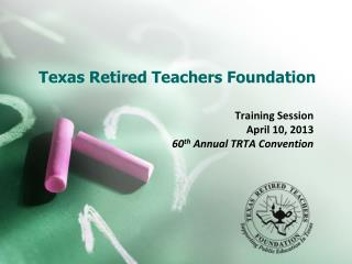 Texas Retired Teachers Foundation