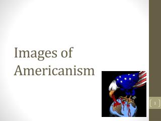 Images of Americanism