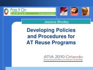 Developing Policies and Procedures for AT Reuse Programs