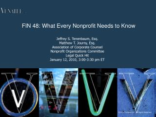 FIN 48: What Every Nonprofit Needs to Know