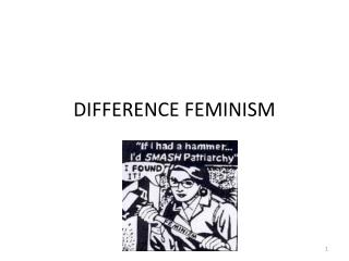 DIFFERENCE FEMINISM
