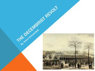 The Decembrist Revolt