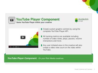 YouTube Player Component