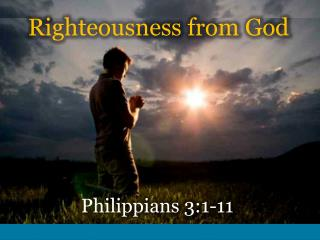 Righteousness from God