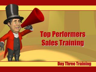 Top Performers Sales Training