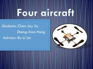 Four aircraft