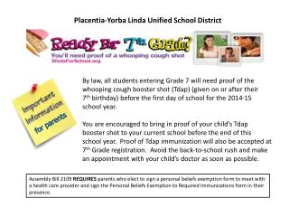 Placentia-Yorba Linda Unified School District