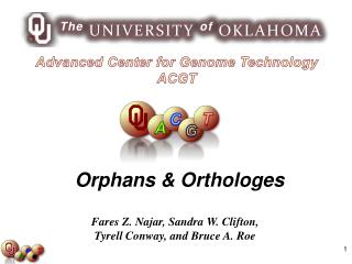 Advanced Center for Genome Technology ACGT