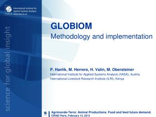 GLOBIOM Methodology and implementation