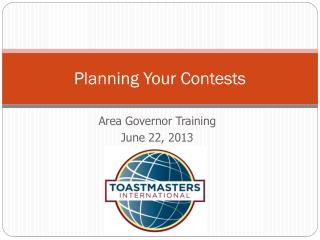 Planning Your Contests