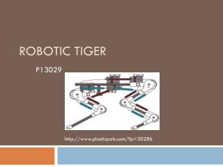 Robotic Tiger