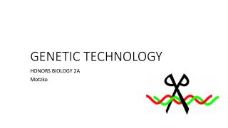 GENETIC TECHNOLOGY