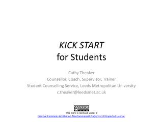 KICK START for Students